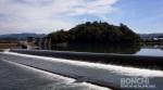 固定堰と亀山公園