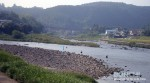 鮎釣り大会三隈川