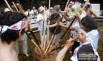 麦餅つき祭り4