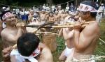 麦餅つき祭り6