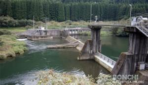 九州電力株式会社の大山川取水堰