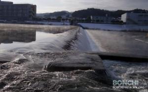 2月3日三隈川固定堰