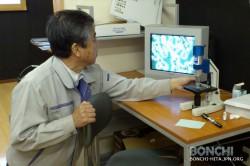 顕微鏡の調整