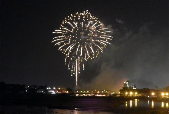 川開き観光祭花火大会
