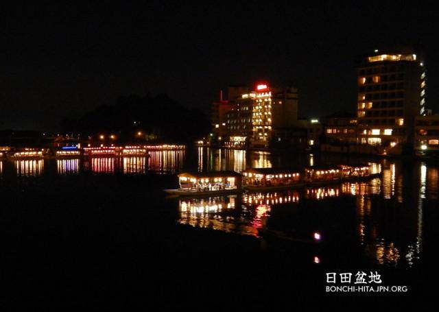 屋形船(日田三隈川)
