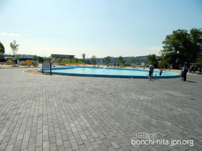 広くなった子供用プール
