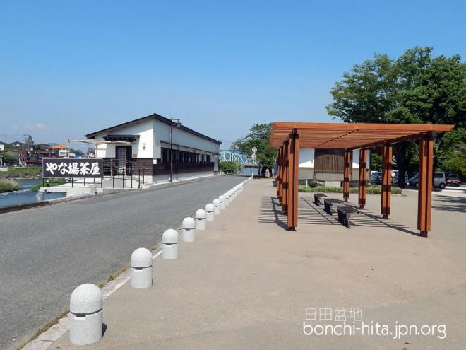 竹田公園横のやな場茶屋
