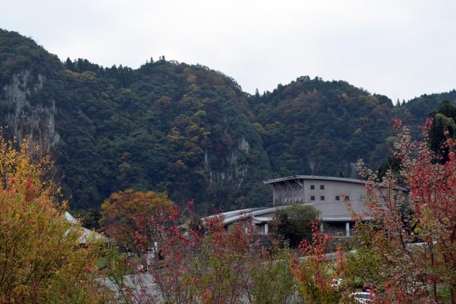 ひびきの郷付近の紅葉